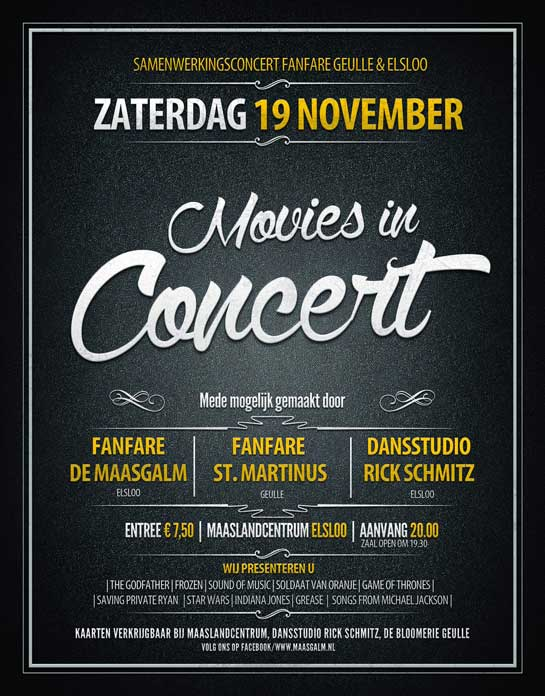 Movies in Concert Maasgalm